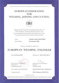 industrial civil buildings steel structures infrastr bridges   diploma inginer sudor european spatariu c