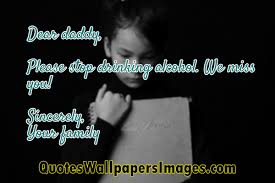 Alcoholic Quotes Best Alcoholic Parents Quotes QuotesWallpapersImages Quotes