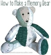 Memory Teddy Bear Pattern