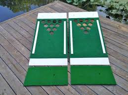 beer pong golf chip golf onto board
