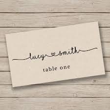 Place Cards Template For Word Printable Escort Card Template Place Card Template Tent