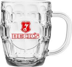 britannia clear glass mug for everyday use