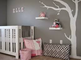 Grey Wallpaper Baby Nursery Paint Background Cute Doll Toys Pillow Bedding  Design Home Decorations