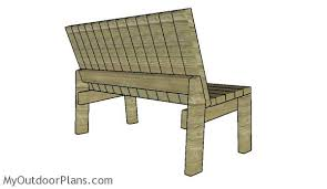free wood garden bench plans. the back of garden bench free wood plans e