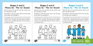 Sounds worksheets and online activities. Northern Ireland Linguistic Phonics Stage 5 And 6 Phase 3a Oo Sound