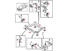 volvo transmission torque mount 112760 8659000 9485400 8k0140 112760 transmission torque mount position h in diagram
