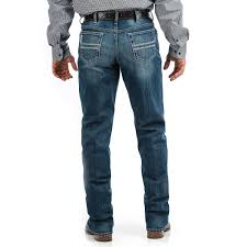 Cinch Mens White Label Relaxed Straight Leg Jeans