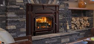 voyager grand wood insert cast iron wood fireplace inserts voyageur grand in porcelain mahogany