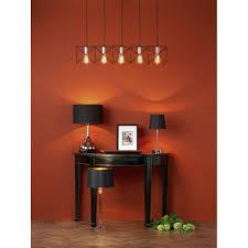 midi mid0522 5 light bar pendant light in copper