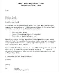 Sick Leave Request Sample Employee Leave Request Cover Letter Paid