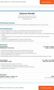 the personal chef resume can help you make a professional and personal chef resume