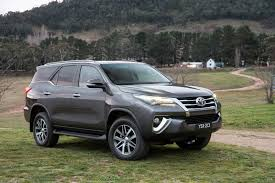Toyota has unveiled the all-new Fortuner SUV in Australia and ...
