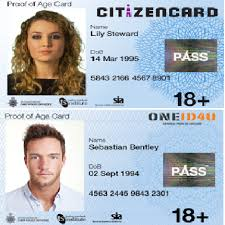 Frontline Of Proof Ltd Age Secure Services Card New