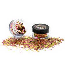 Paintglow Kosmetické Festivalové Flitry Růžovo Zlaté Bio Degradable Blends Glitter Rose Gold 3g