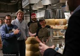 Lourdes Smith formerly of Fiori di Nonno along with a rep from Narragansett  Creamery. | Neighborhood guide, Boston things to do, Prudential