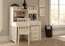 hampton bay writing desk and hutch in white by liberty home gallery s