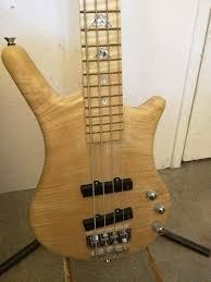 Warwick bleached blonde thumb bass b/o