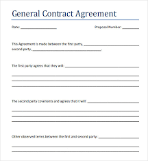Independent Contractor Agreement Template Free Contractor Agreement Template