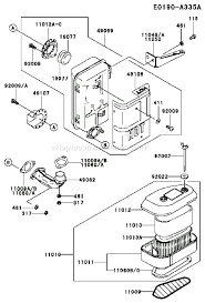 kawasaki fcv parts list and diagram fs com