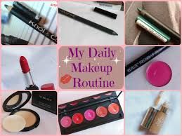 my daily office makeup routine