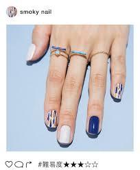 3ページ目インスタ映えネイル夏に似合うブルー系で簡単セルフアート
