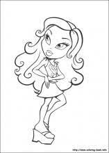 Small Picture Bratz coloring pages on Coloring Bookinfo Bratz color pages