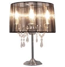 Tischlampe Venezianischer Kronleuchter Schwarz