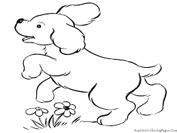 Dog Coloring Page Coloring Pages Realistic Dog Coloring Pages