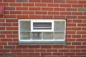 installing glass block basement windows glass block window sizes