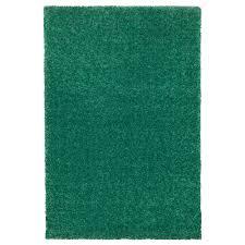 Langsted Vloerkleed Laagpolig Groen