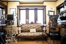 Steampunk office Old Fashioned Eclectic Steampunk Office Doragoram Great Steampunk Office Ideas From Houzz Steampunkary