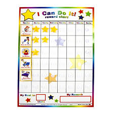 Toddler Good Behavior Sticker Chart Toddler Behavior Charts Amazon Com