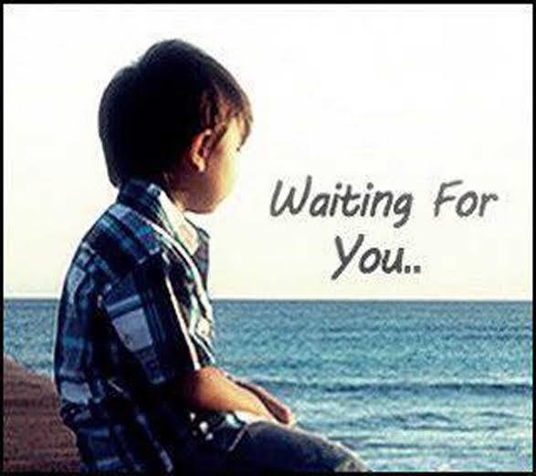 waiting shayari in english