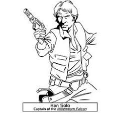 Small Picture star wars coloring page han solo embroidery patterns Pinterest