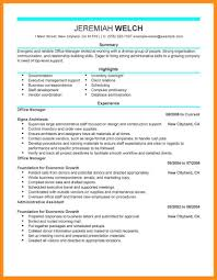 7 Sample Resume For Medical Office Manager Azzurra Castle Grenada