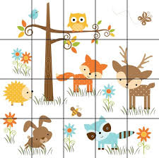 forest animals baby nursery details about woodland forest animals deer owl bee baby nursery wall baby nursery cool bee animal