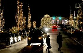 Where To See Christmas Lights In Charlotte Nc Mcadenville Finishes Top 5 In Holiday Lights Contest