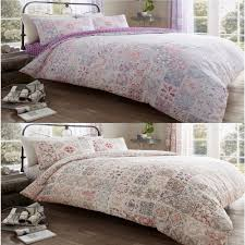 details about amira luxurious vintage style duvet cover sets reversible bedding sets all sizes