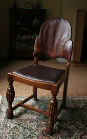 repair leather and wood furniture with contact cement