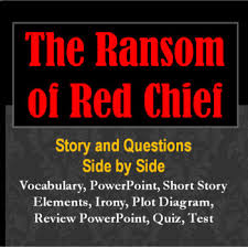 The Ransom Of Red Chief Plot Chart Ransom Of Red Chief Complete Study Unit