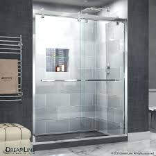 shower door glass thickness delta cavalier in w x h sliding 107