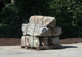 Large Stackable Wall Boulders---$190 per ton