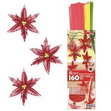 Hobbywelt Kreativshop Poinsettia Comb Quilling Set Karen Maries160 Strfür 15 Sterne Basteln Und Nähen