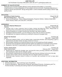 sample resume for undergraduate students junior accounting resume sample  sample resume for internship engineering student