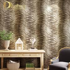 Einfache Moderne Tapete Design Tiger Haut Muster Tapete Für