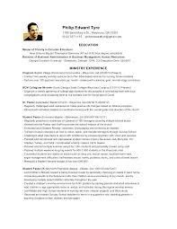 Resume For Pastor Pastoral Resume Pastor Samples Resumes Senior