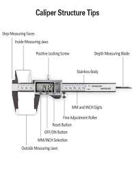 Digital Vernier Caliper With Extra Large Lcd Screen Stainless Steel Caliper Measuring Length 150 Mm 6 Inch Electronic Vernier Buy Laptop Online