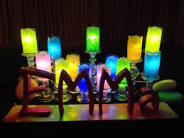 bat mitzvah candle lighting display party perfect boca raton fl 1 561