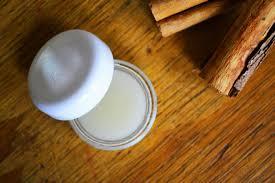 honey cinnamon lip balm