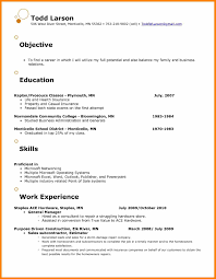 6 Resume Objective For Retail Job Sick Leave Letter